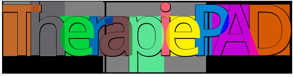 TherapiePAD-Schriftzug